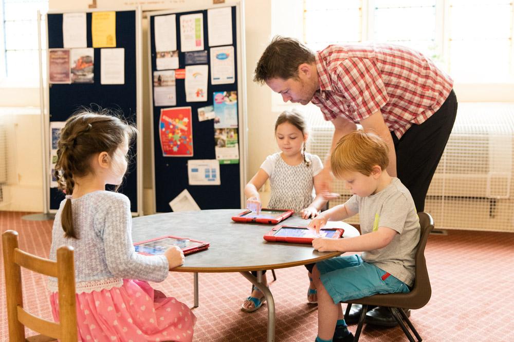 Modern Montessori Classroom ~ Computers in the montessori classroom st andrew s