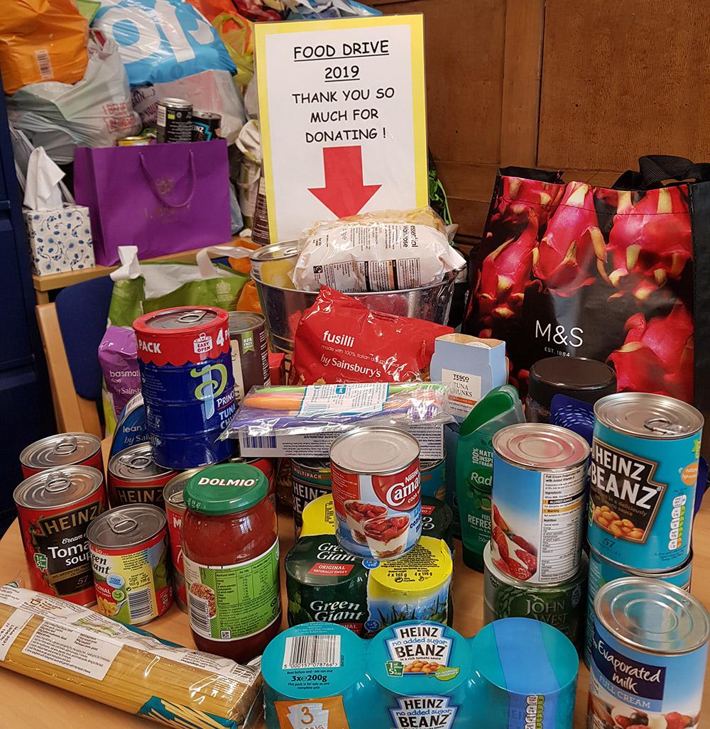 Islington Montessori Nursery run summer food drive