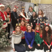 Christmas Party fundraising for Shelter