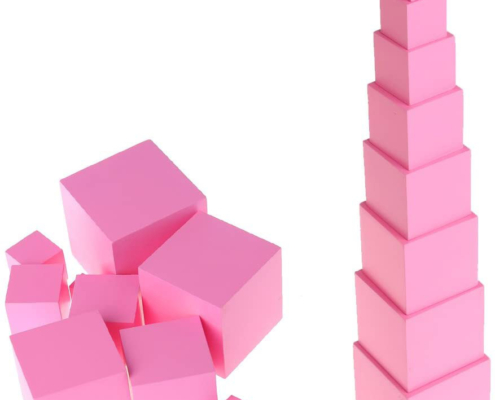 Sensorial: Pink Tower