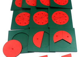montessori maths and fractions