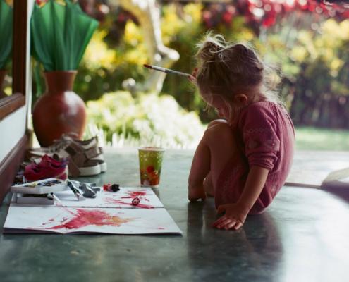 montessori sensorial art